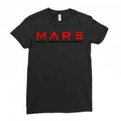 mars military armaments research syndicate Ladies Fitted T-Shirt | Artistshot