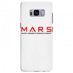 mars military armaments research syndicate Samsung Galaxy S8 Plus Case | Artistshot