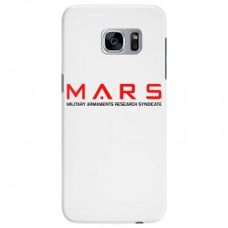 mars military armaments research syndicate Samsung Galaxy S7 Edge Case | Artistshot