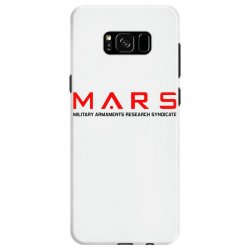 mars military armaments research syndicate Samsung Galaxy S8 Case | Artistshot