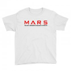 mars military armaments research syndicate Youth Tee | Artistshot