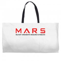 mars military armaments research syndicate Weekender Totes | Artistshot