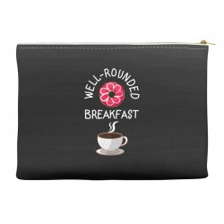 well rounded breakfast Accessory Pouches | Artistshot