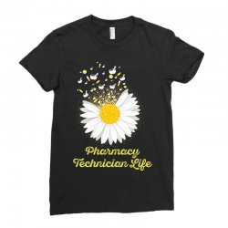 pharmacy technician life Ladies Fitted T-Shirt | Artistshot