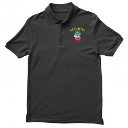 my diabetes isn't from donuts Polo Shirt | Artistshot