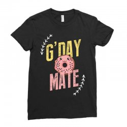 g'day mate Ladies Fitted T-Shirt | Artistshot