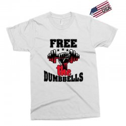 free the dumbbells cool Exclusive T-shirt | Artistshot
