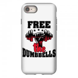 free the dumbbells cool iPhone 8 Case | Artistshot