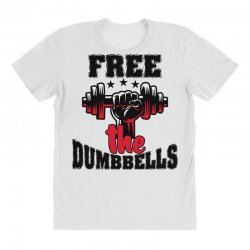 free the dumbbells cool All Over Women's T-shirt | Artistshot