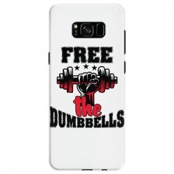 free the dumbbells cool Samsung Galaxy S8 Case | Artistshot