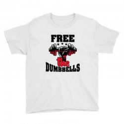 free the dumbbells cool Youth Tee | Artistshot