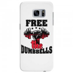 free the dumbbells cool Samsung Galaxy S7 Edge Case | Artistshot