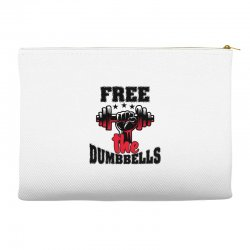 free the dumbbells cool Accessory Pouches | Artistshot