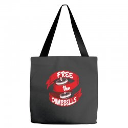 free the dumbbells Tote Bags | Artistshot