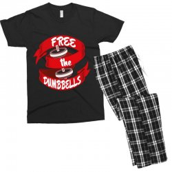 free the dumbbells Men's T-shirt Pajama Set | Artistshot