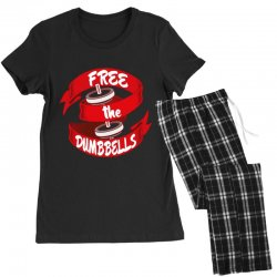 free the dumbbells Women's Pajamas Set | Artistshot