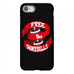 free the dumbbells iPhone 8 Case | Artistshot