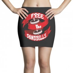 free the dumbbells Mini Skirts | Artistshot