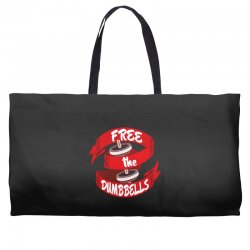 free the dumbbells Weekender Totes | Artistshot