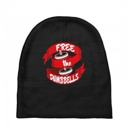 free the dumbbells Baby Beanies | Artistshot