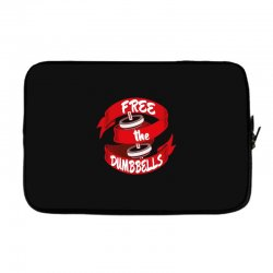 free the dumbbells Laptop sleeve | Artistshot