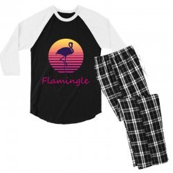 flamingle Men's 3/4 Sleeve Pajama Set | Artistshot