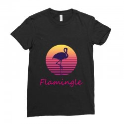 flamingle Ladies Fitted T-Shirt | Artistshot