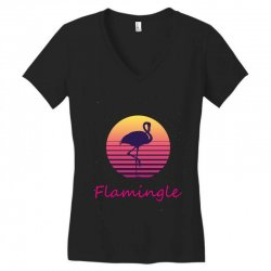 flamingle Women's V-Neck T-Shirt | Artistshot