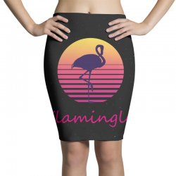 flamingle Pencil Skirts | Artistshot