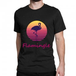 flamingle Classic T-shirt | Artistshot