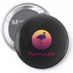flamingle Pin-back button | Artistshot