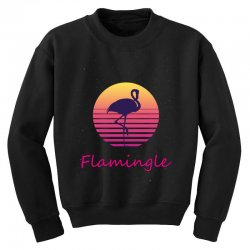 flamingle Youth Sweatshirt | Artistshot