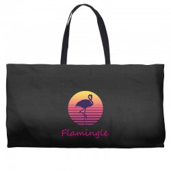 flamingle Weekender Totes | Artistshot