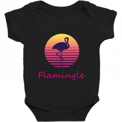 flamingle Baby Bodysuit | Artistshot