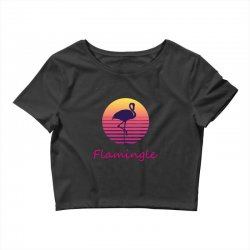 flamingle Crop Top | Artistshot