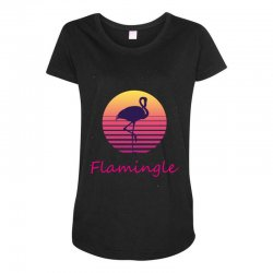 flamingle Maternity Scoop Neck T-shirt | Artistshot