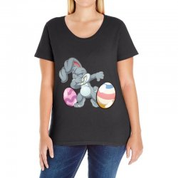 easter day bunny Ladies Curvy T-Shirt | Artistshot