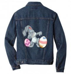 easter day bunny Men Denim Jacket | Artistshot