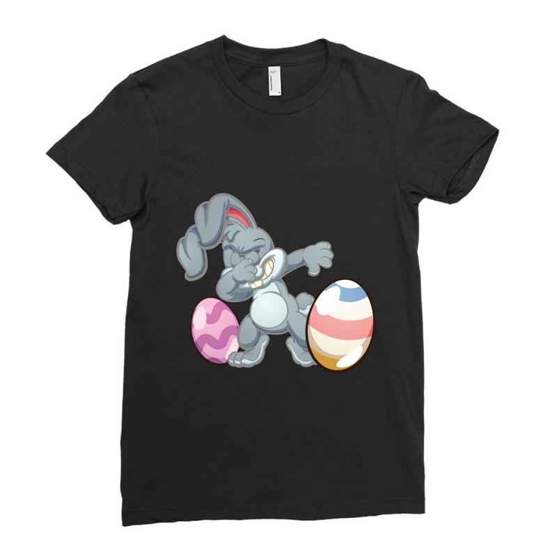 Easter Day Bunny Ladies Fitted T-shirt | Artistshot