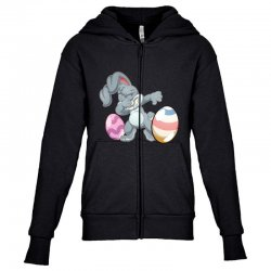 easter day bunny Youth Zipper Hoodie | Artistshot