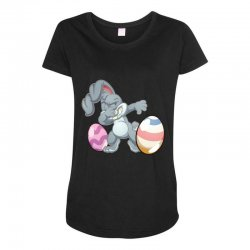 easter day bunny Maternity Scoop Neck T-shirt | Artistshot