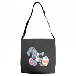 easter day bunny Adjustable Strap Totes | Artistshot