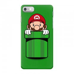 mario pocket iPhone 7 Case | Artistshot
