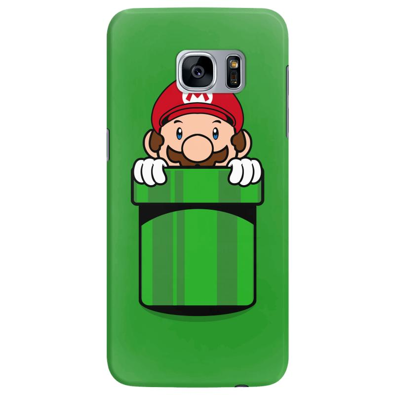 Mario Pocket Samsung Galaxy S7 Edge Case | Artistshot