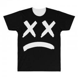 lil peep sad face All Over Men's T-shirt | Artistshot