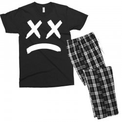 lil peep sad face Men's T-shirt Pajama Set | Artistshot