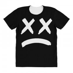lil peep sad face All Over Women's T-shirt | Artistshot