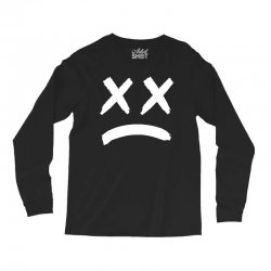 lil peep sad face Long Sleeve Shirts | Artistshot