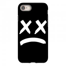lil peep sad face iPhone 8 Case | Artistshot