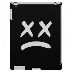 lil peep sad face iPad 3 and 4 Case | Artistshot